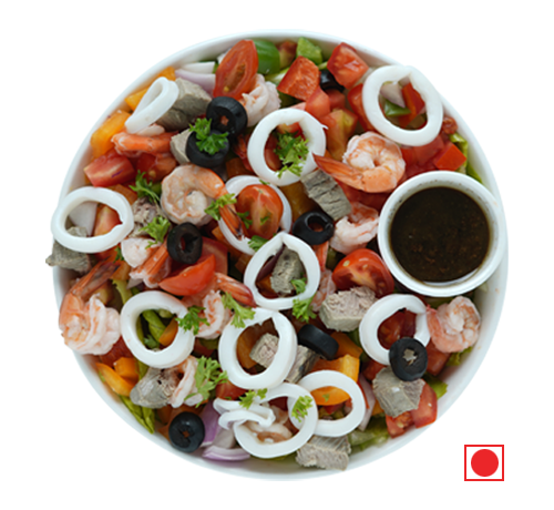 Mescolare Mare (sea food salad)